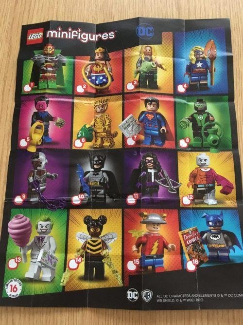 レゴ ミニフィギュア DCスーパーヒーローズ シリーズ 71026 一覧